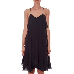 Chloe Linen Ruffled dress
